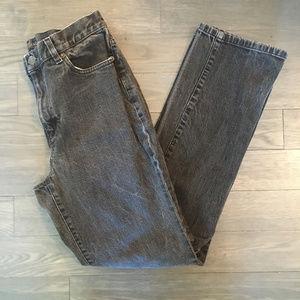 Lauren Jeans Co. Black Straight Leg Jeans